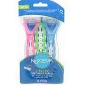 Noxzema 4-Blade Disposable Shaver