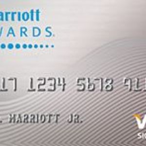 Chase - Marriott Rewards Visa Signature Card