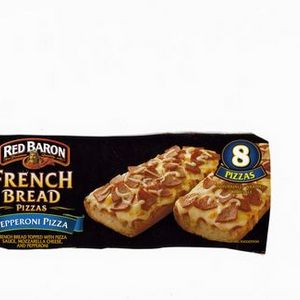 Red Baron French bread pizza