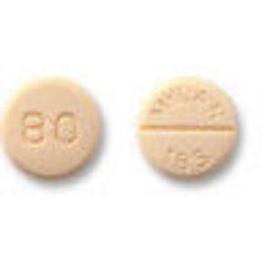 Inderal La (Propranolol) Generic (80mg, 30 Pills)