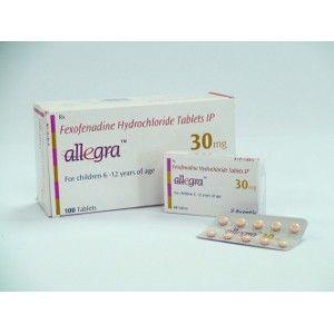 Fexofenadine (Generic Allegra)
