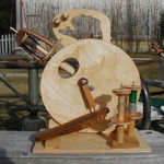Merlin Tree HitchHiker Spinning Wheel