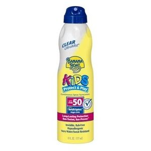 Banana Boat Kids UltraMist Sunscreen SPF 50 Continuous Clear Spray