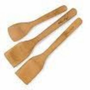 Pampered Chef Bamboo Specialty Cooking Set