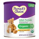 Parent's Choice Organic Infant Formula