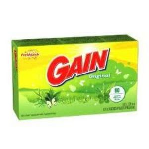 Gain Dryer Sheets, Original Scent