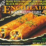 Amy's Enchilada with Black Beans and Vegetables