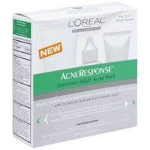 L`Oreal Dermo Expertise Acneresponse Intensive Adult Acne Peel 3 Step System Kit