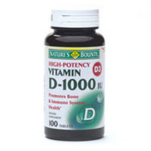 Nature's Bounty Vitamin D-1000