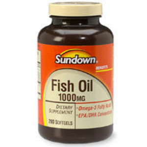 Sundown Fish Oil 1000mg
