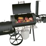 Brinkmann Cimarron Deluxe Charcoal/Wood Smoker & Grill 855-6306-A 855-6306-6
