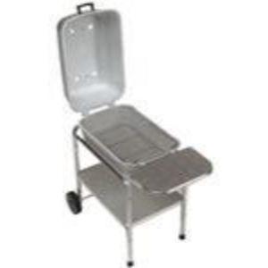Portable Kitchen Cast Aluminum Cooker Charcoal Grill