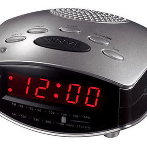 Coffee Maker Alarm Clock Radio : Durabrand - Clock Radio CR502 Reviews Viewpoints.com