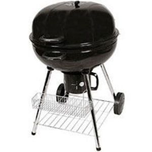 "UniFlame 22"" Kettle Charcoal Grill With Warming Rack"