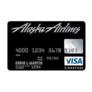 Bank of America - Alaska Airlines Signature Visa Card