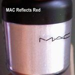 MAC PRO Glitter - Reflects Blackened Red