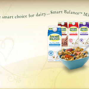 Smart Balance Fat Free Milk with Omega 3's & Vitamin E