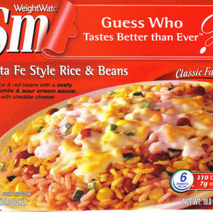 Weight Watchers Smart Ones Santa Fe Style Rice & Beans