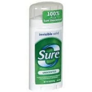 Sure Invisible Solid - Unscented