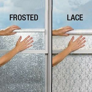 Harriet Carter Frost-A-Window Vinyl Covering