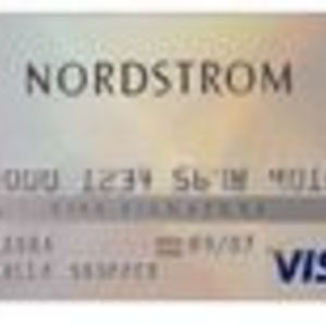 Nordstrom Visa Bank Card