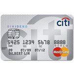 Citi - Dividend World MasterCard