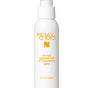 Paula's Choice Ultra Light Weightless Finish SPF 30 Sunscreen Spray