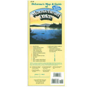 DeLorme Map & Guide of Moosehead Lake