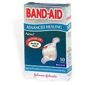 Band-Aid Advanced Healing Gel Strips