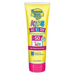 Banana Boat Kids Tear-Free Sting-Free Sunblock Lotion SPF 50