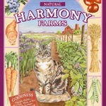 Harmony Farms Cat food--purple bag