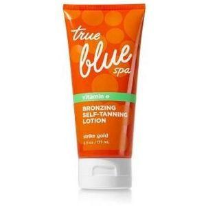 Bath & Body Works True Blue Spa Bronzing Self-Tanning Lotion - Strike Gold