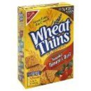 Nabisco - Tomato Basil Wheat Thins