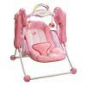 Summer Infant Little Pink Kisses Travel Swing