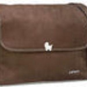 Carter's Brown Suede Messenger Diaper Bag