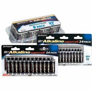 Walgreens - Ultra Alkaline Batteries