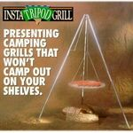Midwest wire products Insta Tripod Grill
