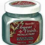 DecoArt Elegant Finish Metallic Paint