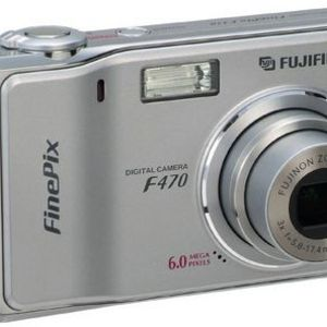 Fujifilm - FinePix F470 Zoom Digital Camera