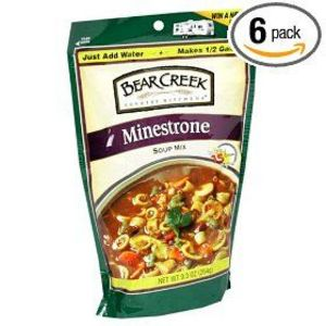 Bear Creek Country Kitchen Minestrone Soup Mix