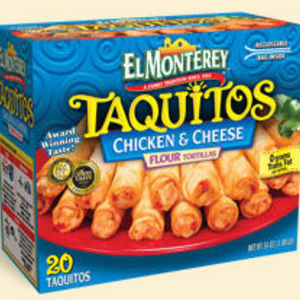 El Monterey Taquitos - Chicken and Cheese