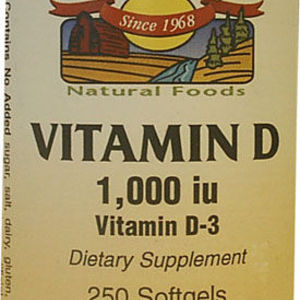 Spring Valley High Potency Vitamin D 1000 IU