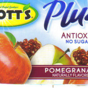 Mott's - Plus Antioxidants Pomengranate Apple Sauce
