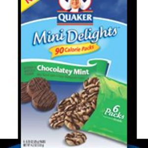 Quaker Mini Delights Chocolatey Mint Flavor Reviews