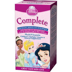 Disney Princess Complete Multivitamin