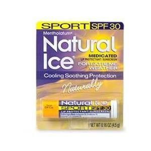 Mentholatum Natural Ice Lip Protectant