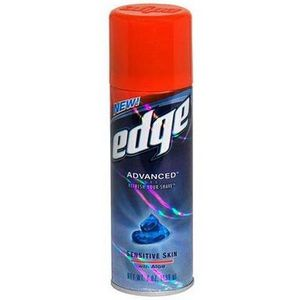 Edge Advanced Shave Gel, Sensitive Skin with Aloe