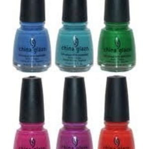 China Glaze Nail Lacquer - All Shades