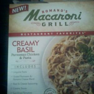 Romano's Macaroni Grill Restaurant Favorites Creamy Basil and Parmesean Chicken