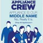 Sears Blue Appliance Crew